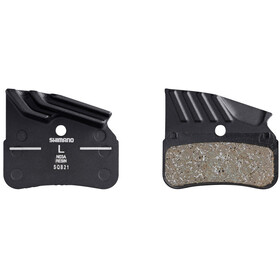 Shimano N03A Resin Remblok & Remschoen met koelribben hars 1 paar zwart